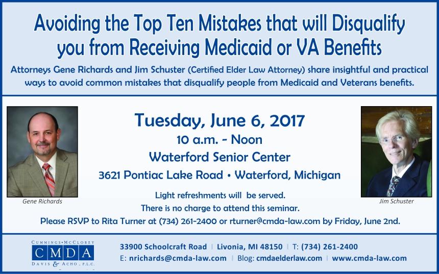 CMDA Seminar on June 6