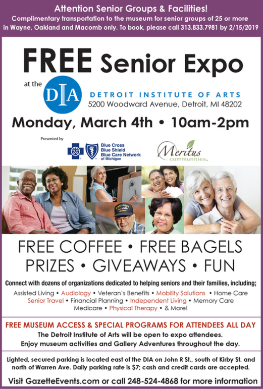 Senior Expo at DIA