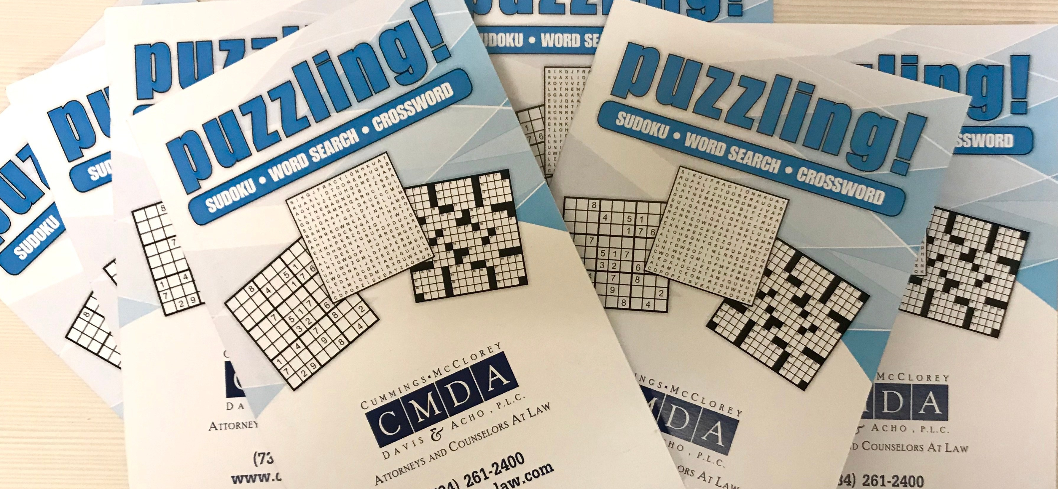 CMDA Puzzle Booklet